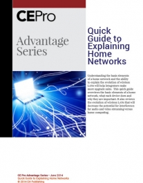 Quick Guide to Explaining Home Networks