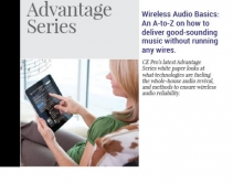 Wireless Audio Basics: An A-to-Z on How to Deliver Good-Sounding Music Without Running Any Wires