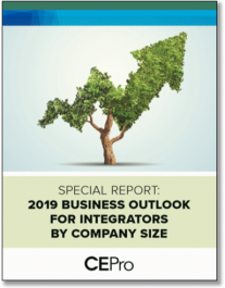 2019 Business Outlook for Integrators by Company Size