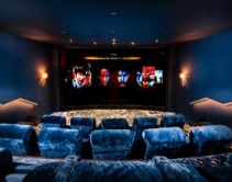 Look Inside Europe's First Private IMAX Home Theater