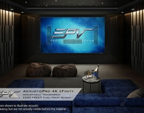 EPV Screens Launches $1,995 Acoustically Transparent, 4K Ready Screen