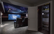 Denver Broncos-Themed Home Theater Features Savant Home Automation, Sony 4K Projector