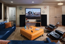 Media Room Transformation: From Kids' Playroom to Movie Buff and Audiophile Heaven