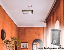 James Loudspeaker 42SA-4 Small Aperture Speaker Fits into Shallow Walls and Ceilings