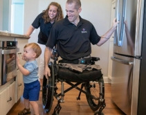 Wounded U.S. Army Captain Nick Vogt Receives Custom ELAN Smart Home