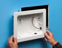 8x10 TV BOX™ Features Versatile Mounting in New and Retrofit installations