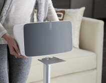 Sanus Expands Wireless Speaker Stand Series for Sonos PLAY:5 Speaker