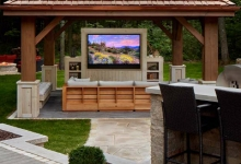 Séura Outdoor TVs Deliver 4K and HDR Images in Non-Traditional Environments