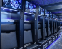 Project of the Year: Memphis Tigers Locker Room Features Over 100 LG Displays