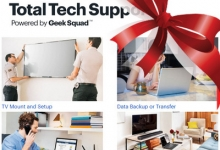 Best Buy to Focus on Total Tech Support as 'Giftable' Holiday Item