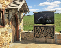 Integrator Rescues Ye Olde Poolside with Clever TV Install  #SoCustom