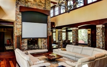 Look Inside a Great Room Home Theater Design and Installation