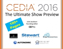 Slideshare: Julie Jacobson's Ultimate Preview of CEDIA 2016