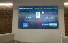 Tackling Commercial Collaboration, Video Wall Project … with Help
