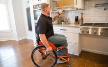 Afghanistan Veteran Receives Fully Customized Smart Home from Gary Sinise Foundation
