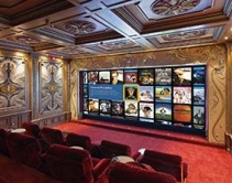 Home Theater Doubles as Screening Room for Well-Known Film Director