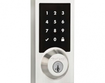 Kwikset SmartCode 916 Touchscreen Deadbolt Lock Features New Contemporary Design