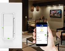 Leviton Decora Digital Controls Provide Dimming, Fan Control via Bluetooth