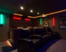 #TBT Star Wars Themed Home Theater Comes Complete With Lightsabers