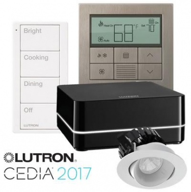 Lutron Unveils New Wireless Control, Thermostat, Lighting Fixtures ...