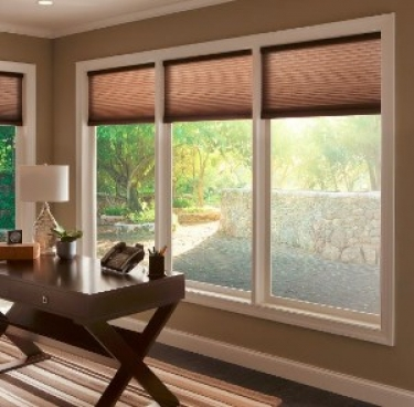 Motorized Blinds And Shades Window Treatment Ideas For