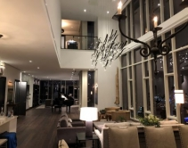 Nashville Penthouse Features Custom James Loudspeaker Soundbar, Savant Control