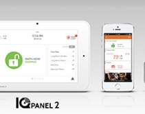 Powered by Alarm.com, Qolsys IQ Panel 2 Integrates Smart Home Services