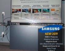 Samsung Promotes HDMI 2.1, Big Screens, New Features As 2019 4K, 8K TV Lineup Hits Retail