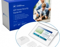 Best of DIY and Pro: UL-Listed Security Hub with SmartThings Inside, Monitored by ADT, Built on 2GIG