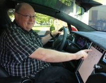 Tesla Model X Acts as Operational 'Office' for Integrator