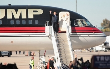 How These Two Guys Got the 'Home Theater' Gig for Trump's Private Plane