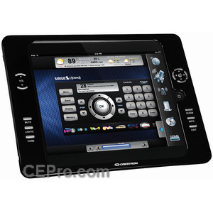 Exclusive: Crestron iPanel Brings Hard Buttons to iPad