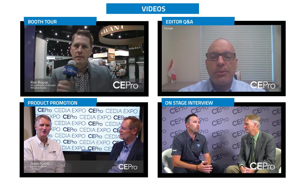 CE Pro Videos