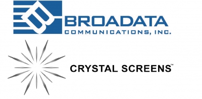 Broadata & Crystal Screens Logo