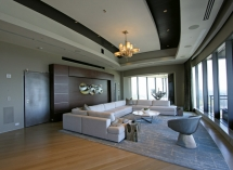 This Atlanta Penthouse Is Part Living Room Home Theater
