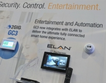 Elan + 2Gig + Integrated NVR Makes Unique Security, Surveillance, Home Automation Combo