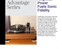 Amplifier Power Fuels Sonic Fidelity