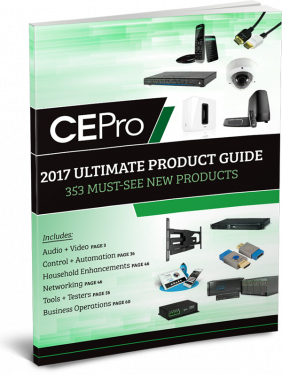 CE Pro's 2017 Ultimate Product Guide