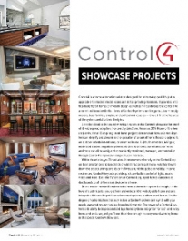 Control4 Home of the Year Smart Home Project Showcase
