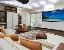 "Crystal Screens Announces New 130"" Projection Screen for Home Theaters"