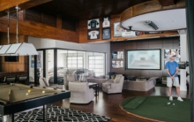 Inside a NASCAR Driver's Big Smart Home: Bowling, Basketball, and Beyond