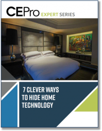 7 Clever Ways to Hide Home Technology