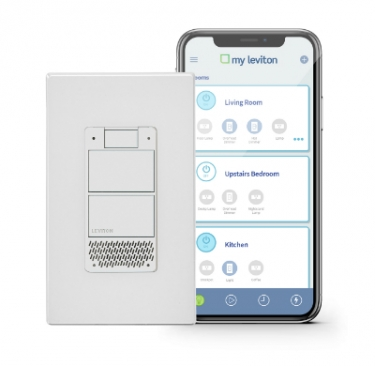 Leviton Announces Decora Voice Dimmer With Amazon Alexa at CES 2019