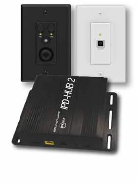 MSE Audio IPD-Hub2 Bundle Features Attero Tech Wall Plates