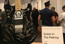 Origin Acoustics Sponsors Alice Cooper's Fundraiser at CEDIA Business Xchange