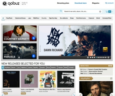 High-Resolution Qobuz Audio Streaming Service Launches in the U.S.