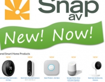 SnapAV Now Sells Nest and Google Smart Home and Pro-Monitored Security Systems