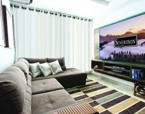 Severtson Slims Down Bezel for 4K Thin Projection Screen Series