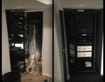 Takeover Talent: How N.J. Integrator Cleaned Up 3 Messy Rack Closets