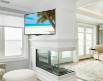 Integrator Challenged to Mount Two TVs on One Fireplace